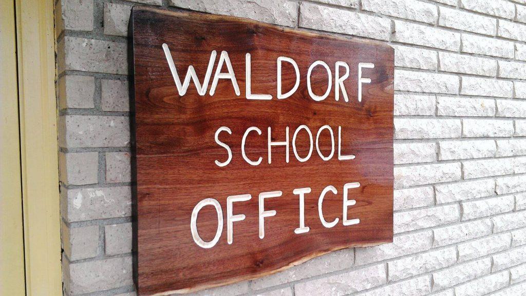 school office sign