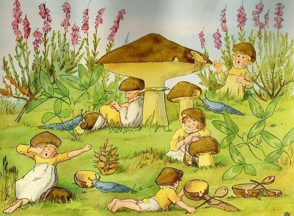 esla beskow mushroom children