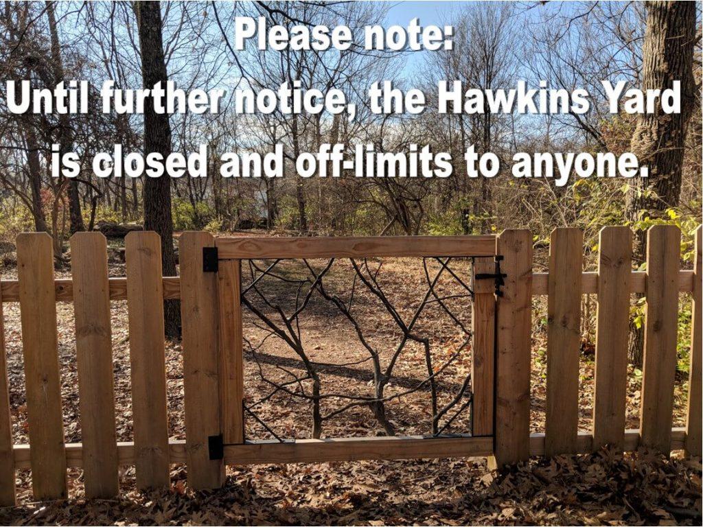 hawkins yard closed