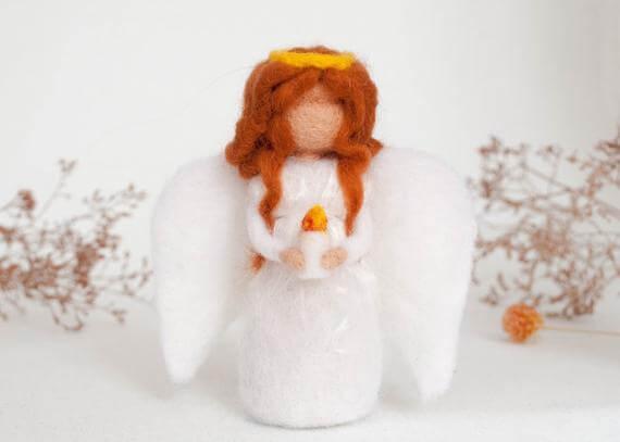 angel room felt angel